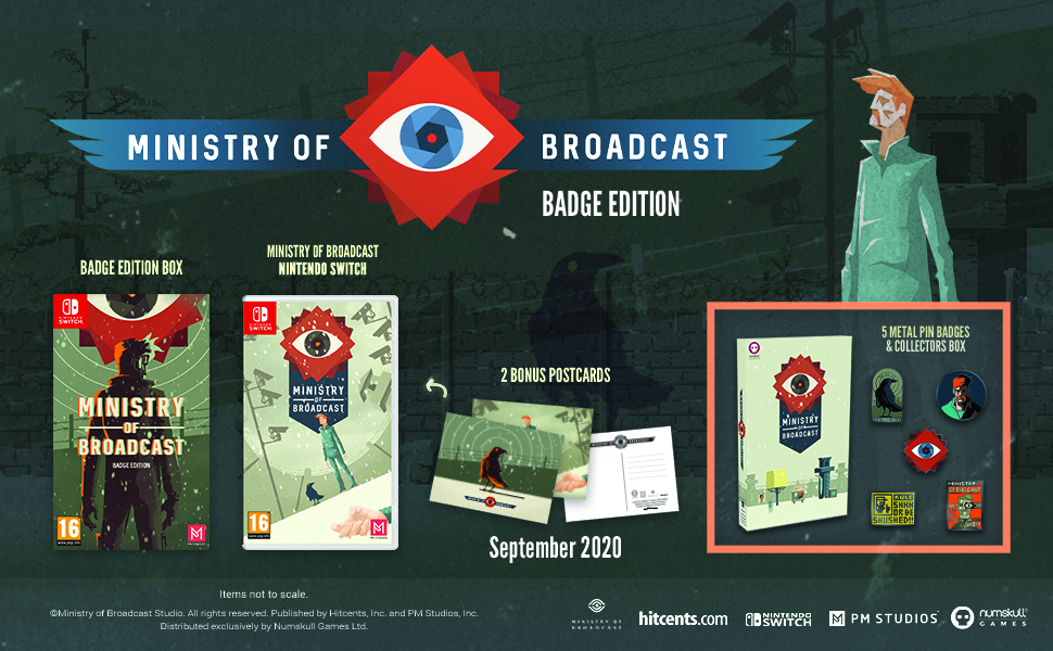 Ministry of Broadcast - Badge Edition (Nintendo Switch)