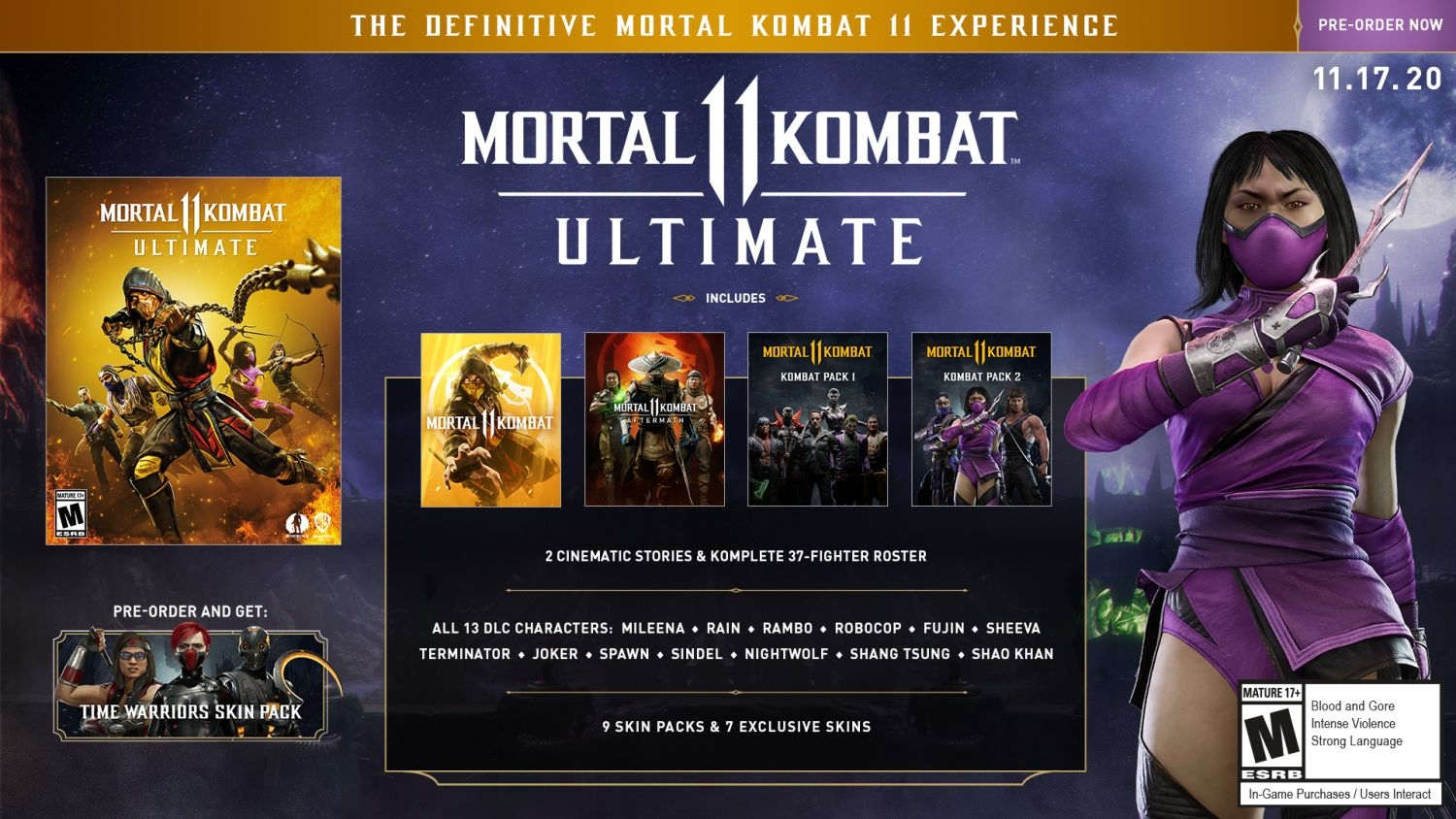 MORTAL KOMBAT 11 ULTIMATE LIMITED EDITION (PS4)