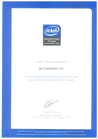 Intel Channel Partner 2007