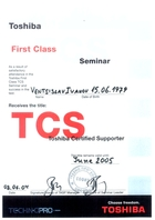Toshiba Training 2005